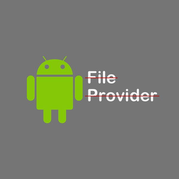 استفاده از روش های قدیمی کار با Intent بجای FileProvider در اندروید +۸